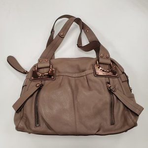 B Makowsky Brown leather Handbag